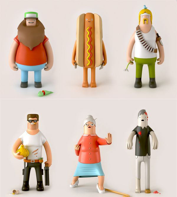 Toys Serie N°1 by Yum Yum London