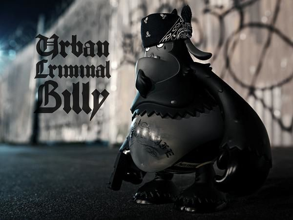 Urban Criminal Billy by Jure Gavrans