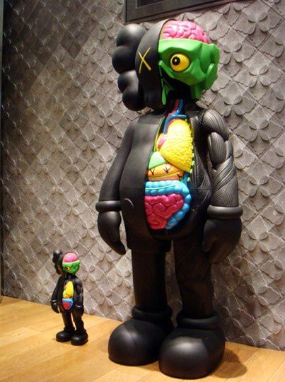 Dissected Companion Black Version by KAWS