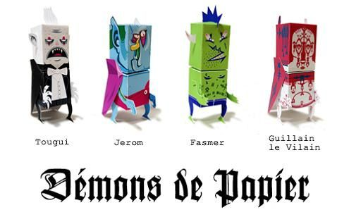 Paper Demons by Horrorwood