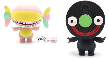 Exposition The Sweety et Liquorice, Toxic Candies par Stephane Levallois x Artoyz