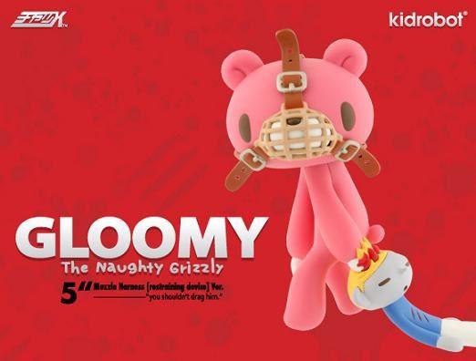 Muzzle Harness Gloomy Bear by Kidrobot