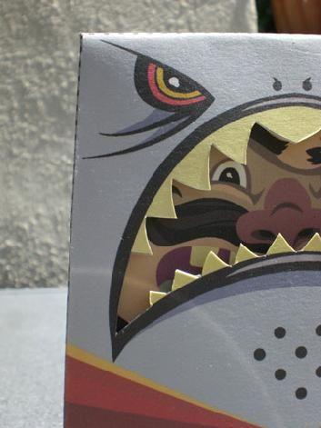 Paper toy designed by Andre Sibayan