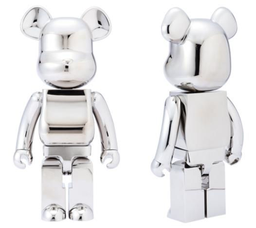 Be@rbrick Stainless 1000%