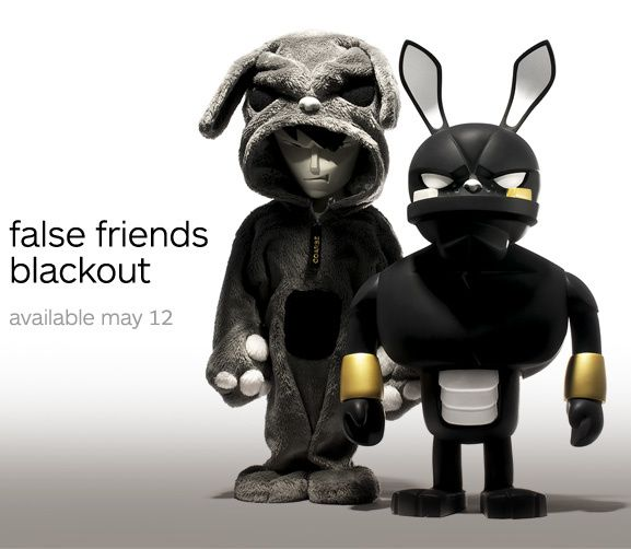 False Friends Blackout by Coarse Toys