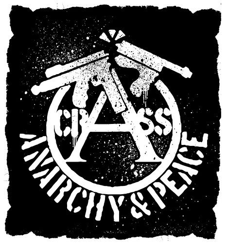 Crass anarcho-punk logo