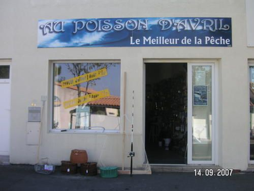 magasin de peche ile de re le de poisson d avril la rochelle