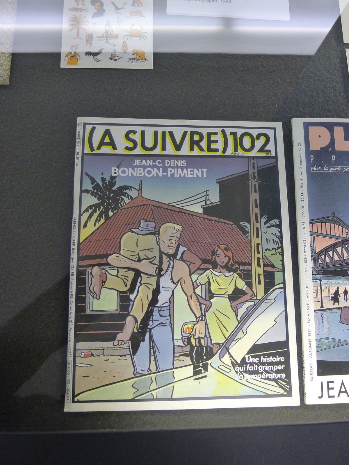 Exposition virtuelle de ma vision du festival de la BD à Angoulême 2013.