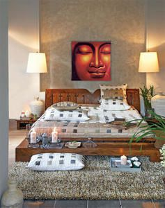 Deco indienne pour table for Chambre indienne decoration