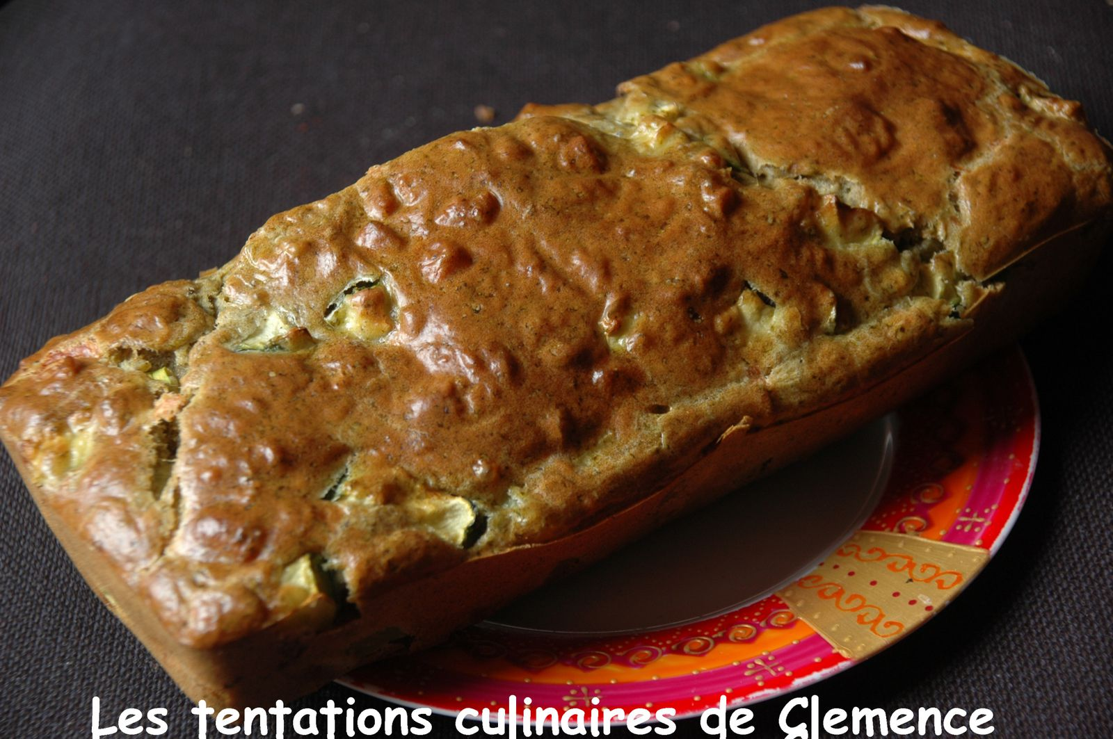 Cake Courgettes Ch Ef Bf Bdvre Noix