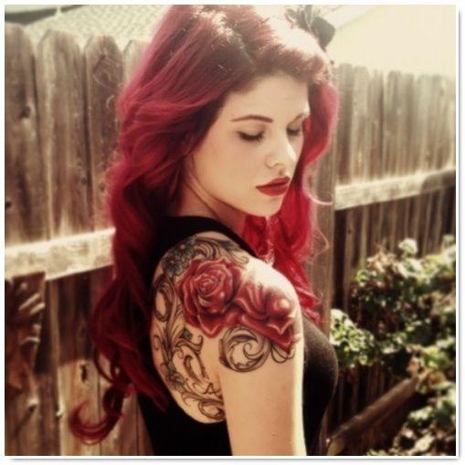 Inspiration Tattoo Modeles De Tatouages Fleurs Be Barock
