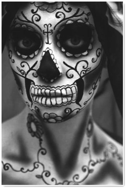 Catrina : make-up & tattoos