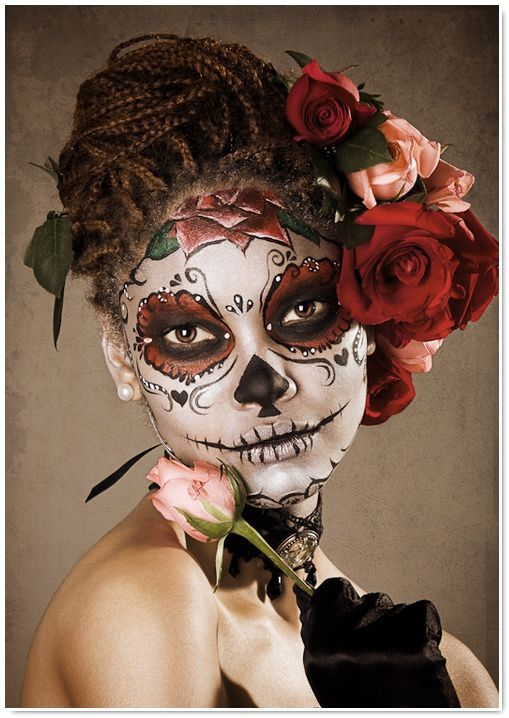 inspiration catrina make up tattoos be barock. Black Bedroom Furniture Sets. Home Design Ideas