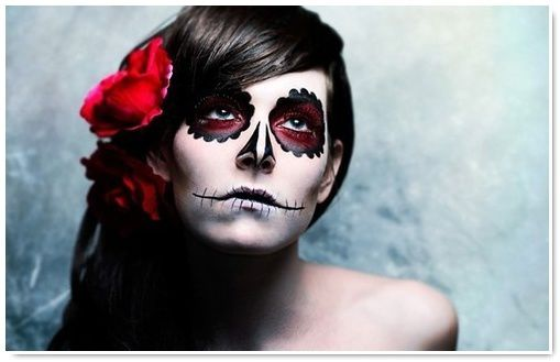 Catrina  make,up  tattoos