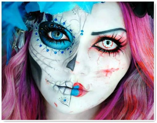 Extrêmement Inspiration Catrina : make-up & tattoos - Be BaRock IZ28