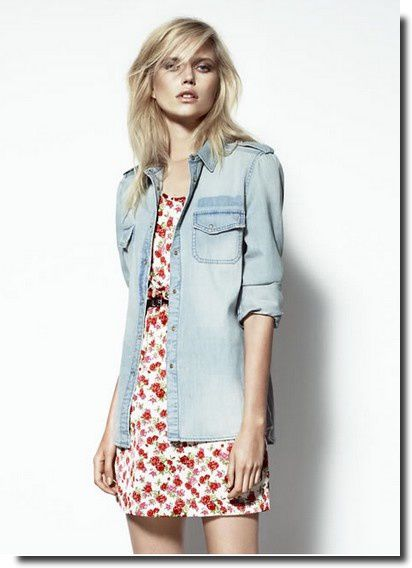 Lookbook Mango juillet 2013