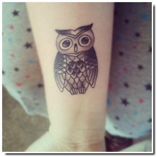 L Instant Tattoo Chouette Et Hibou Modeles Et Symboliques Be