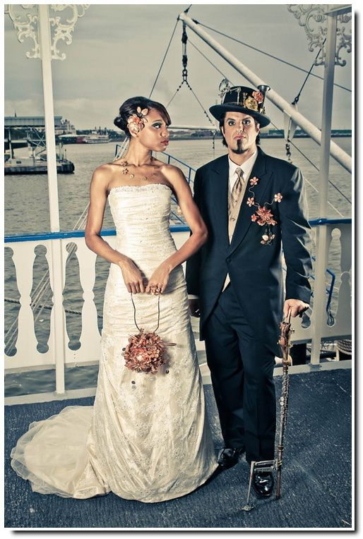 Steampunk Wedding Be Barock