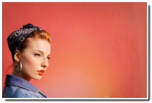Gut bekannt Pin Up hairstyles : quelques inspirations pour le printemps  QC67