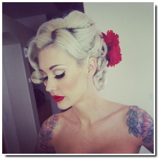 Pin Up Hairstyles Quelques Inspirations Pour Le