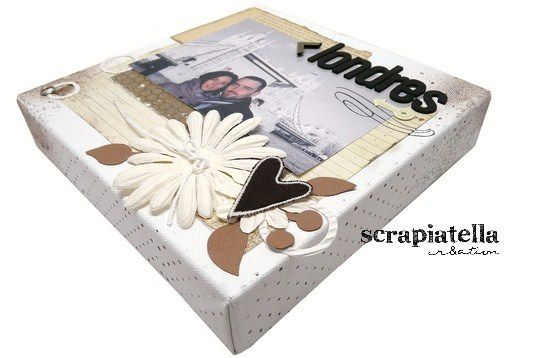 Canvas scrapbooking Londres