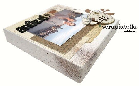 Canvas scrapbooking 20x20