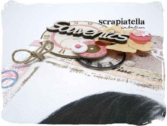 Canvas scrapbooking 2