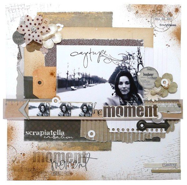 page 30x30 shabby- vintage