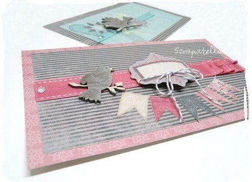 Cartes scrap Pandore hiver 2011