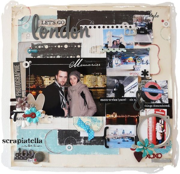 Page scrapbooking Londres