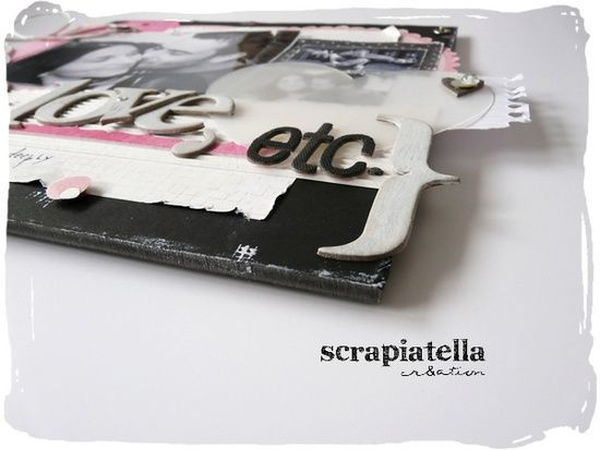 Réa scrapbooking Love 01