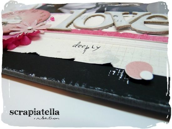 Réa scrapbooking Love 02