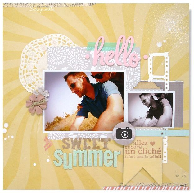 page hello sweet summer