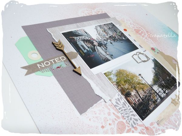page Amsterdam scrapbooking
