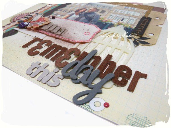 Page scrap shabby voyage