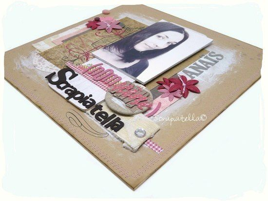 scrapbooking couleurs girly