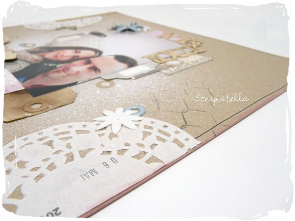 page atelier scrapbooking
