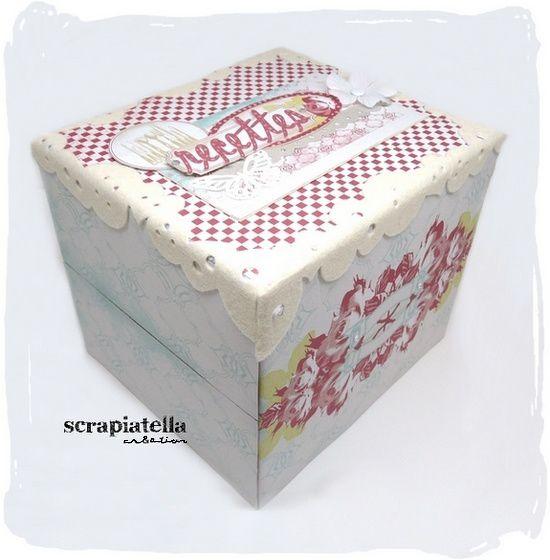 Boîte à recettes en Pandore