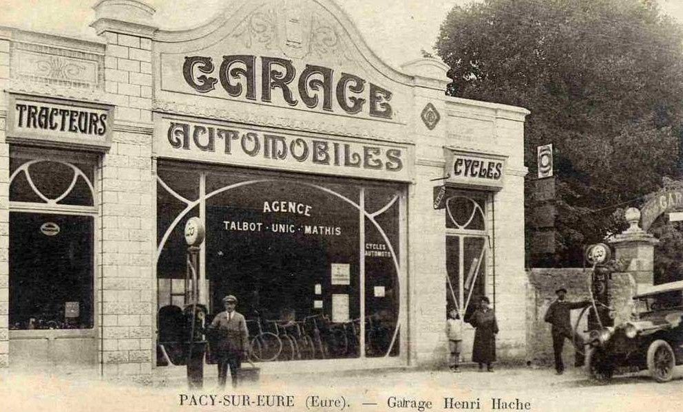 Album garages et stations services d 39 antan station for Garage paris club