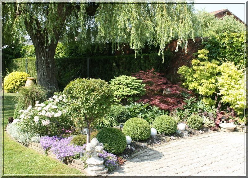Photo de massif de jardin - Massif decoratif jardin ...