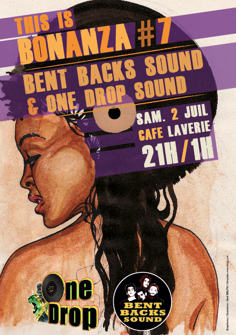 TIB7 flyer reggae bent backs sound