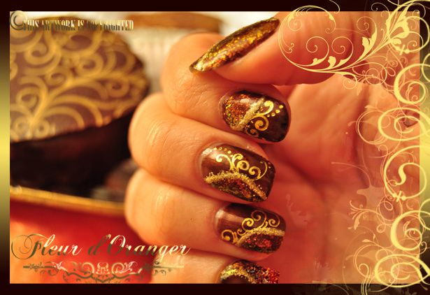nail-art-sable-choco 0137 copie