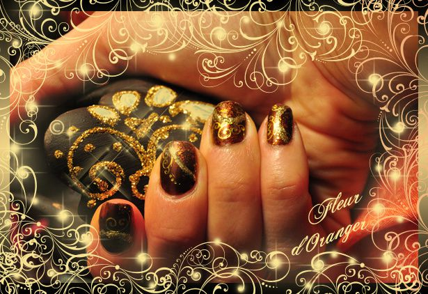 nail-art-sable-choco 0149 copie