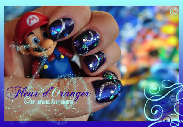 Nail-art-Mario-Galaxy 0562 copie