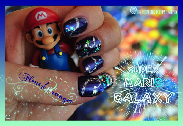 Nail-art-Mario-Galaxy 0564 copie