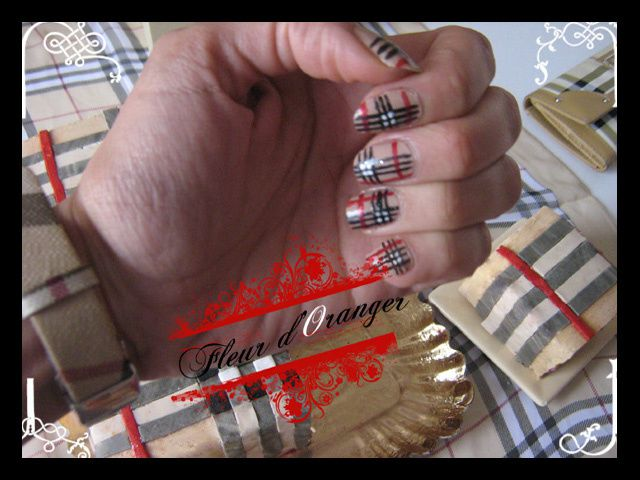 nail-art-burberry 8546 copie