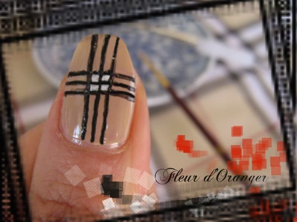 nail-art-burberry 8604 copie