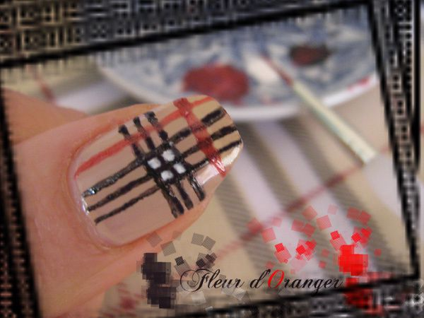 nail-art-burberry 8606 copie