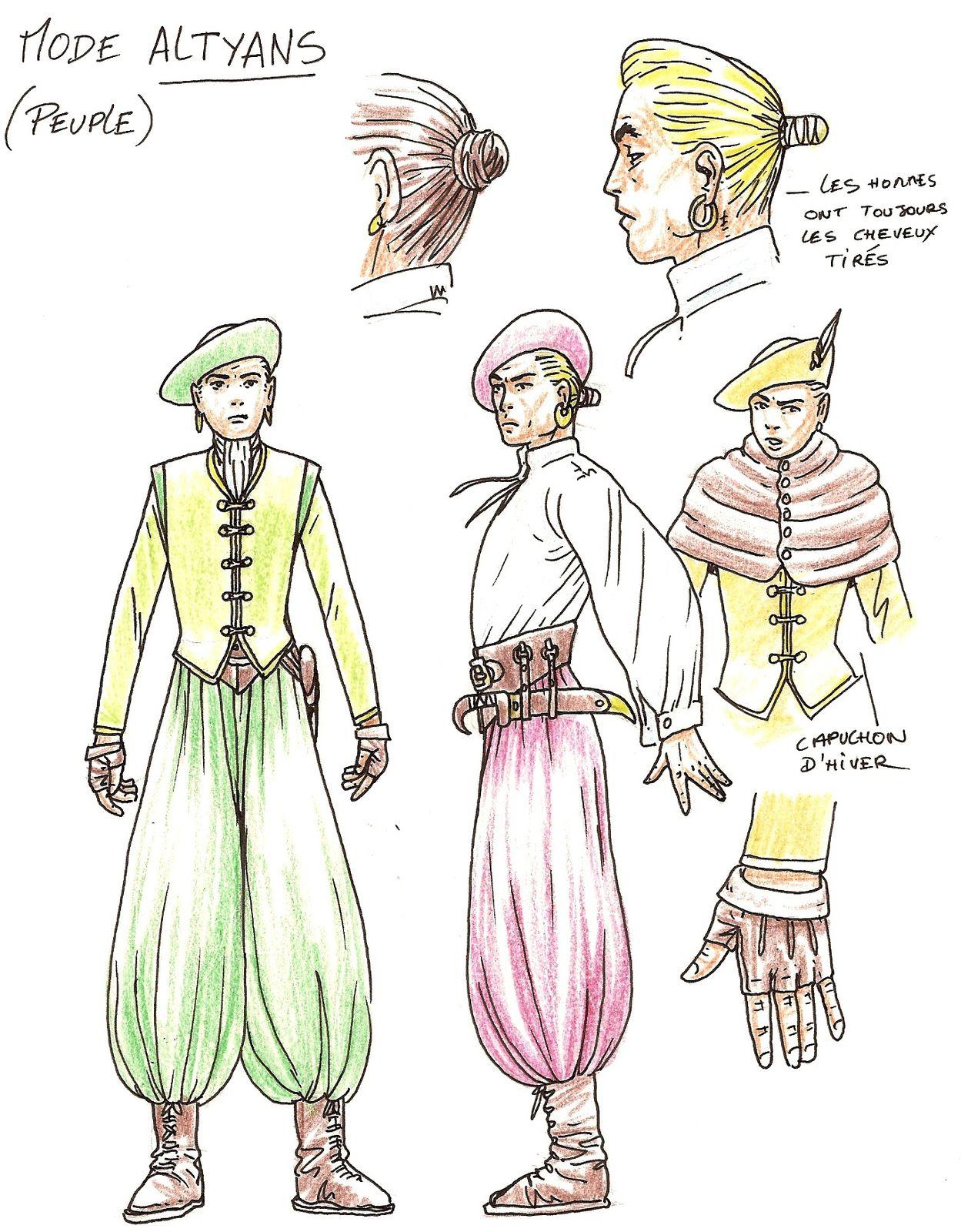 Lans Sirling est une série scénarisée par Jean-Charles Gaudin et colorisée par trois coloriste différent Chez Soleil!