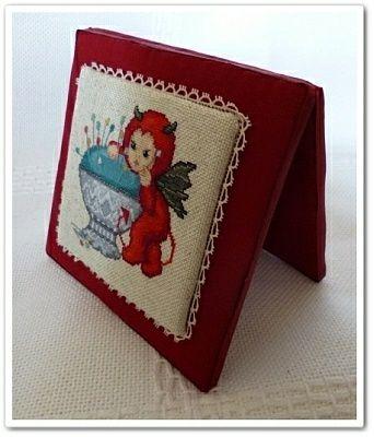 little stitch devil with pincushion